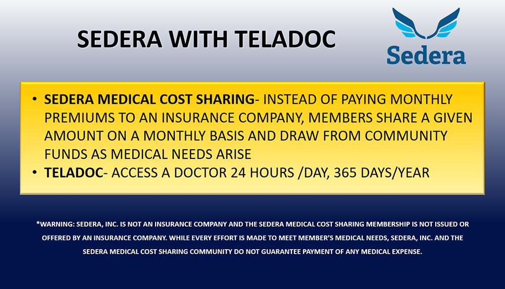 Sedera with Teladoc